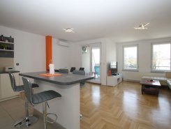 Un/furnished, modern, 3-bedroom apt (100m2) with a parking space