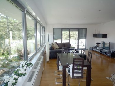Un/furnished, luxurious, 3-bedroom apt (160m2) with a garage and a terrace