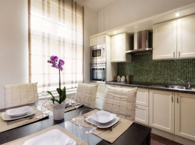 Refurbished and furnished, 2-bedroom apt (90m2) located in downtown